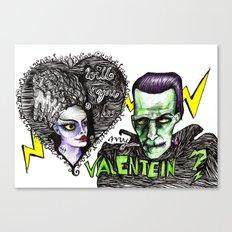 Be my Valentein?  Canvas Print