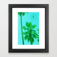 Palm Tree Number 8 Framed Art Print