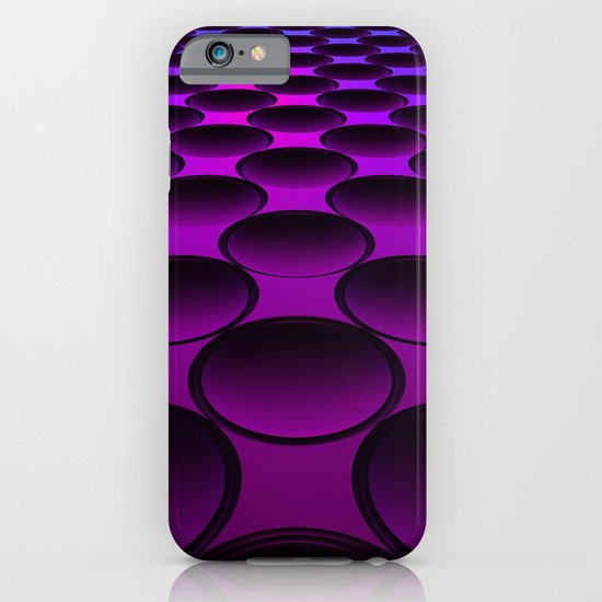 Purple Dimples iPhone & iPod Case