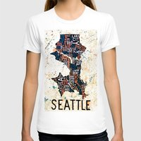 seattle T-shirts featuring Seattle by Artful_Schemes