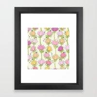 Lotsa Lotus Love Framed Art Print