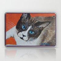 Rastus The Snowshoe Cat Laptop & iPad Skin