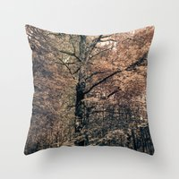 Tales from the trees 2 Throw Pillow