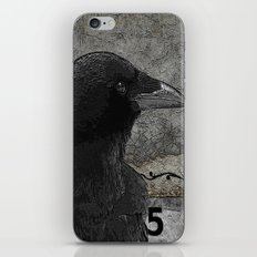 Five Of Spades iPhone & iPod Skin