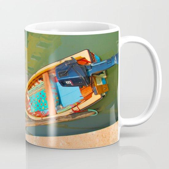 burano, italy - boat Mug