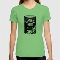 Rainbow Seeds Womens Fitted Tee Grass SMALL