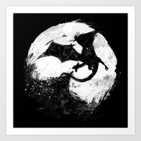 Midnight Desolation Art Print