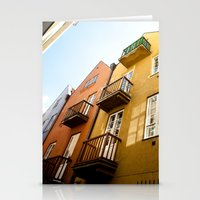 Colours Of Warsaw Stationery Cards