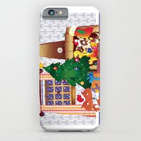 Merry Christmas Cat and Dog iPhone 6 Slim Case