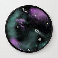 Deeep Space Wall Clock