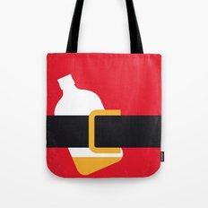 No702 My Bad Santa minimal movie poster Tote Bag