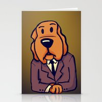 Dog News Stationery Cards
