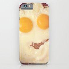 smiley egg iPhone 6 Slim Case