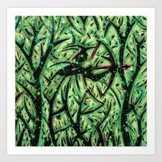 Orixás - Oxossi Art Print