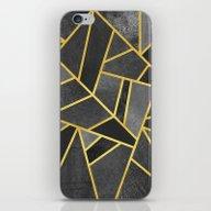 Grey Stone iPhone & iPod Skin