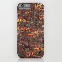 iPhone Cases featuring Gold Favela by Guillaume Cornet