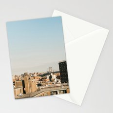 New York City Skyline from the Lower East Side Stationery Cards