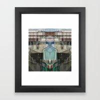over undergrounder Framed Art Print