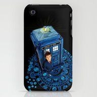 Doctor Who At Arch Of Ti… iPhone (3g, 3gs) Slim Case