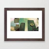 Canary Wharf - Poster, Art Print, Framed Art Print and Canvas  Framed Art Print