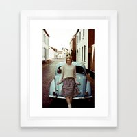 Aimee Framed Art Print