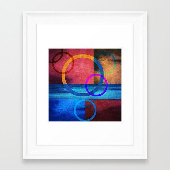 Textures/Abstract 91 Framed Art Print