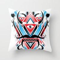 An Ancient Deity  Throw Pillow