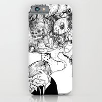 iPhone Cases featuring A Heavy Heart by hatrobot