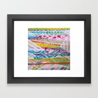 Abstract Heart Framed Art Print