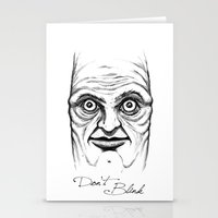 Don't Blink Stationery Cards