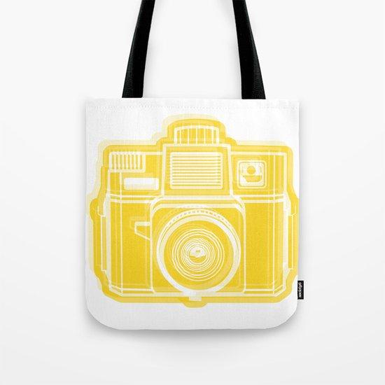 I Still Shoot Film Holga Logo - Sunshine Yellow Tote Bag