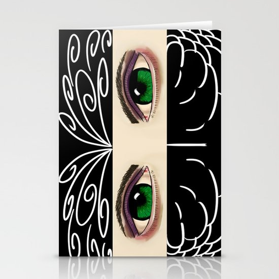 Reverse Masquerade Stationery Card