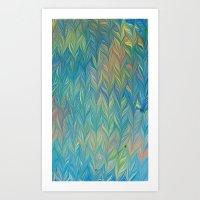 Marble Print #44 Art Print