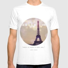 Lumiere SMALL White Mens Fitted Tee