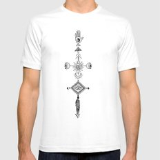 the sun, the moon, and the truth White Mens Fitted Tee SMALL