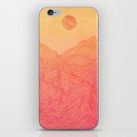 Sunset Mountain - 2 iPhone & iPod Skin