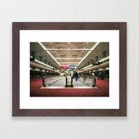 Denver. Framed Art Print