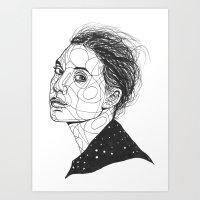 Lykke Li Art Print