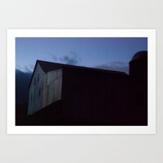Beard's Barn Art Print