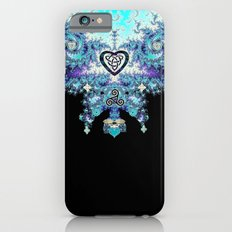 Celtic Fractal Celtic Heart Tapestry iPhone 6 Slim Case