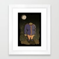 Moon Patrol Framed Art Print