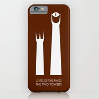 The Lord of the Rings: Two Towers Minimalist iPhone 6 Slim Case
