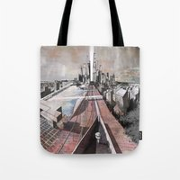 Paris d'avenir 2 Tote Bag