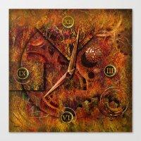 Zeitbestimmung ! Canvas Print
