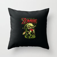 Legend Of Zombie Throw Pillow