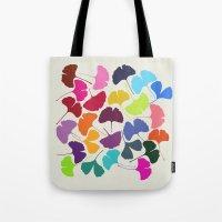 Ginkgo Multicolor Tote Bag
