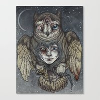 Ghosts In The Night Canvas Print