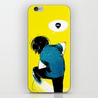 Yellow iPhone & iPod Skin