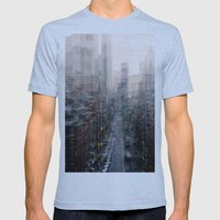 Lower East Side Mens Fitted Tee Athletic Blue SMALL
