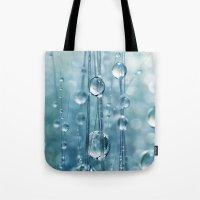 Blue Grass Drops II Tote Bag
